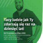 Plakat Powszechny Spis Rolny 2020 - nabór na rachmistrzów
